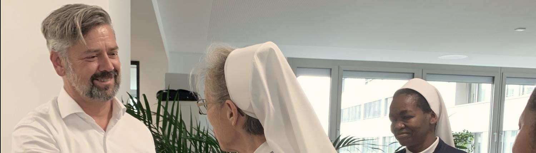 Schwestern aus Tansania zu Besuch bei marenas in München